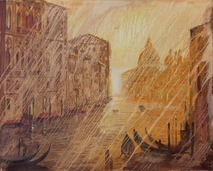 Artwork by Alex Levin. Symphony or Rain.