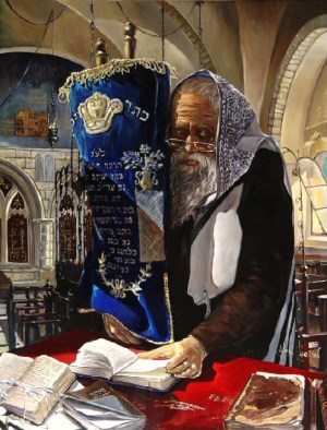 Alex Levin - Praying with the Torah
