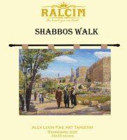 Tapestry Shabbos Walk-Catalog