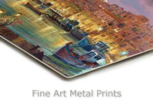 Tel Aviv Metal Prints