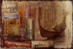 Artwork by Alex Levin. Symphony or Rain.