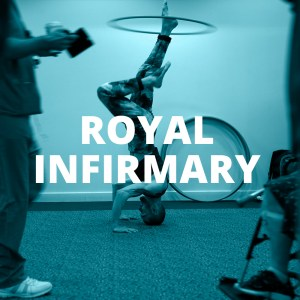 ROYAL INFIRMARY BUTTON