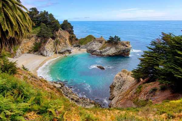 Big Sur Hidden Lagoon - Fine Art Photography of California's peaceful coastline