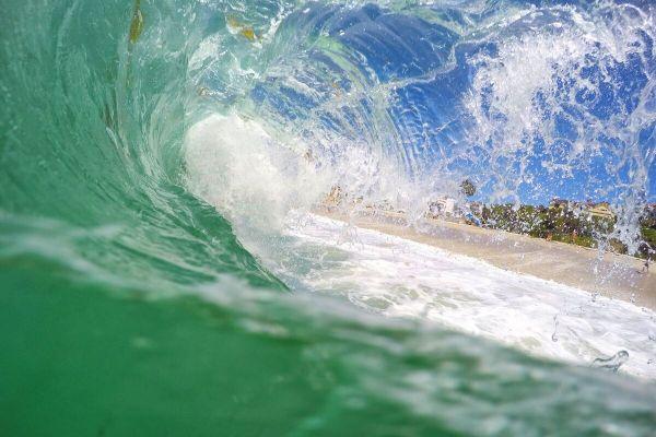 La Jolla Water Veil - Fine Art Photography