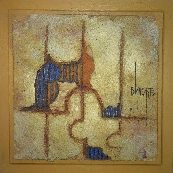 Palido I (Pale I) - Mixed Media Painting