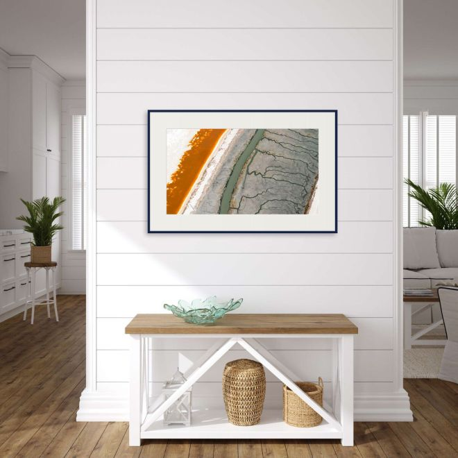 California coastal entryway with fine art photography