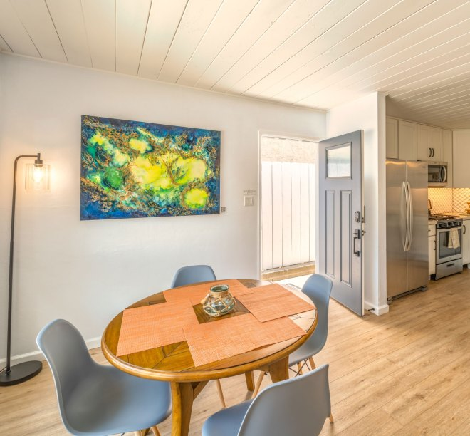 Display local artists' art to improve booking conversion rates and add an additional revenue stream to your vacation rental