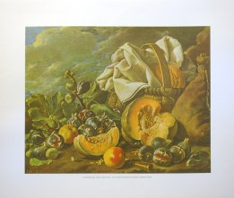 LUIS MENENDEZ - STILL LIFE FRUITS (LITHOGRAPH)