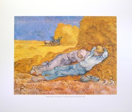 VAN GOGH - THE HARVEST (LITHOGRAPH)