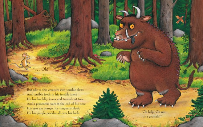 Image result for gruffalo book
