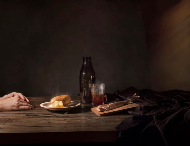 Katerina Belkina  Late Supper, 2015  Archival Pigment Print  38 x 50 cm  15 x 19 3/4 in  Edition of 8 plus 2 artist's proofs  Series: Repast