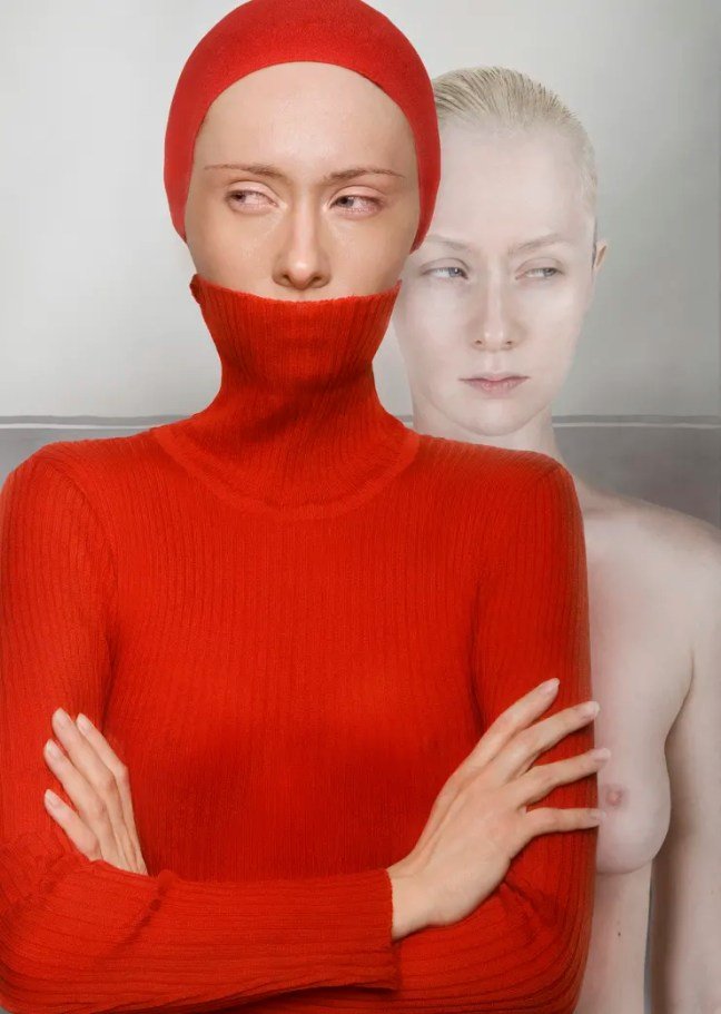 Katerina Belkina  Rose-Red. Envy, 2008  Archival Pigment Print  110 x 77 cm  43 1/4 x 30 1/4 in  Edition of 9 plus 2 artist's proofs  Series: Not a Man's World