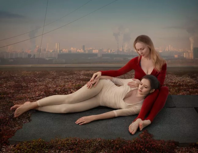 Katerina Belkina  Constant, 2015  Archival Pigment Print  100 x 130 cm  39 3/8 x 51 1/8 in  Edition of 8 plus 2 artist's proofs  Series: Revival