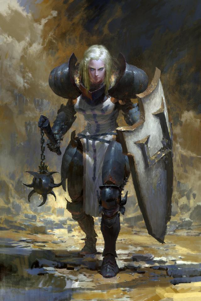 diabloiii - shield by ruan_jia