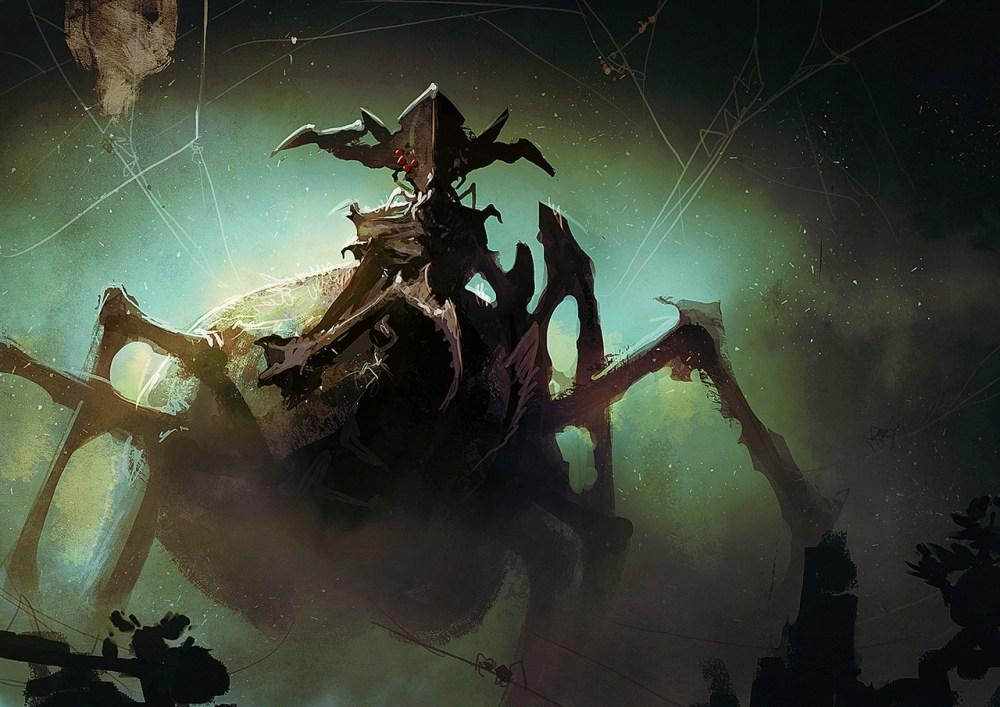 Emperor Of The Spiders by sebastien brunet