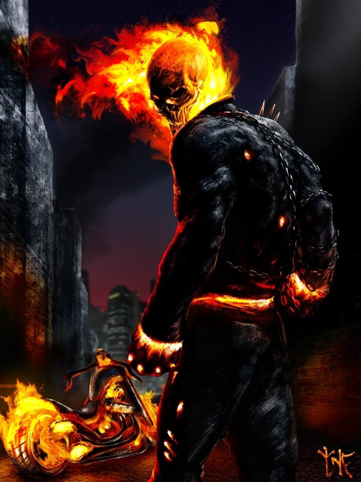 Ghost Rider by Caglayan Kaya Gokosky