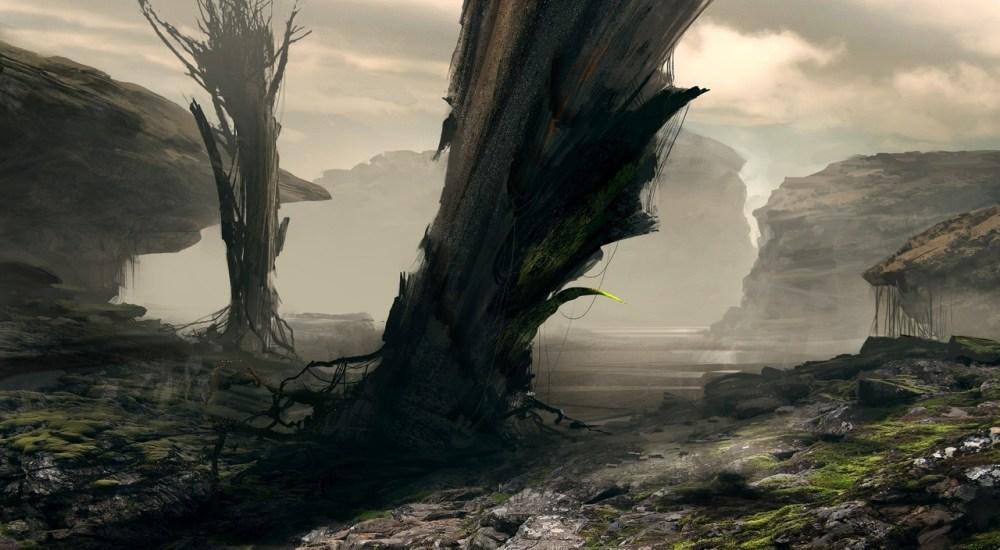 Alien Vegetation by Victor Hugo Harmatiuk
