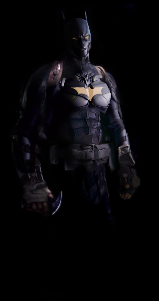 Batman Redesign by David Corzine