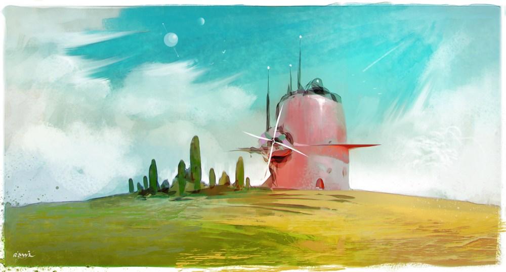 Landscape B by ahmed rawi