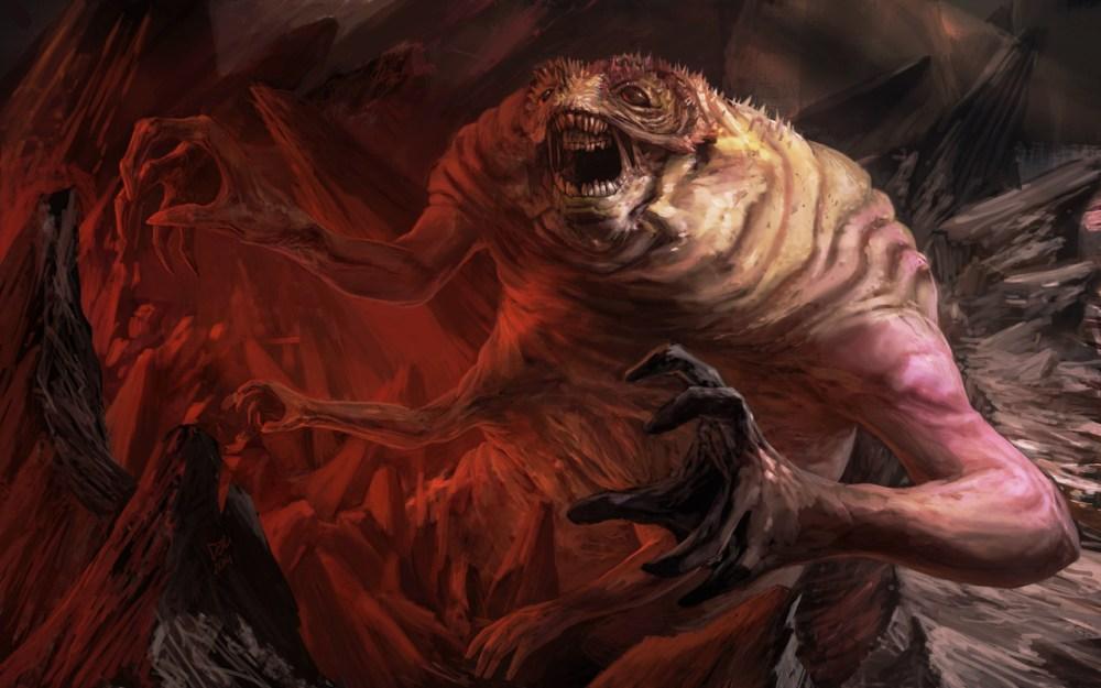 Worm King by Douglas Deri