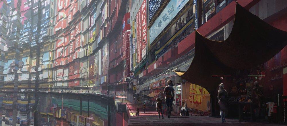 City Of Newcrest by Fournier Aurelien