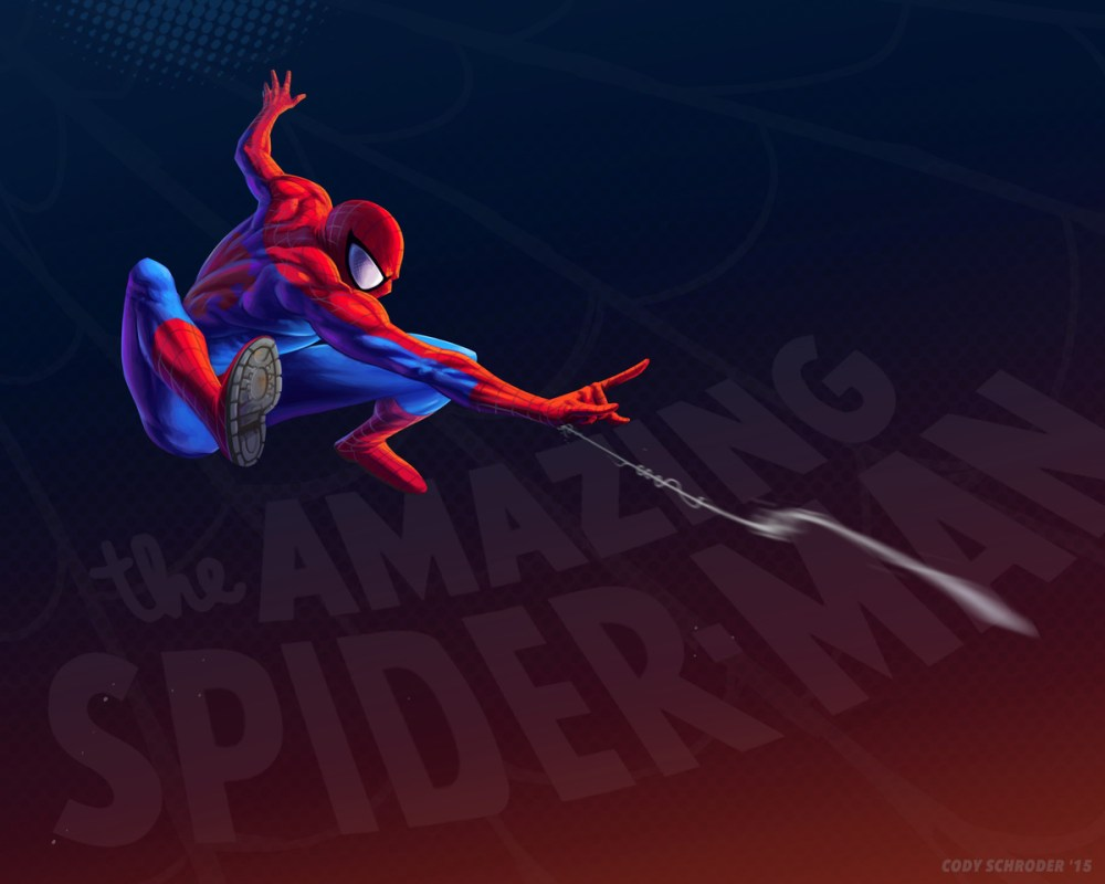 the amazing spider-man by codyschroder