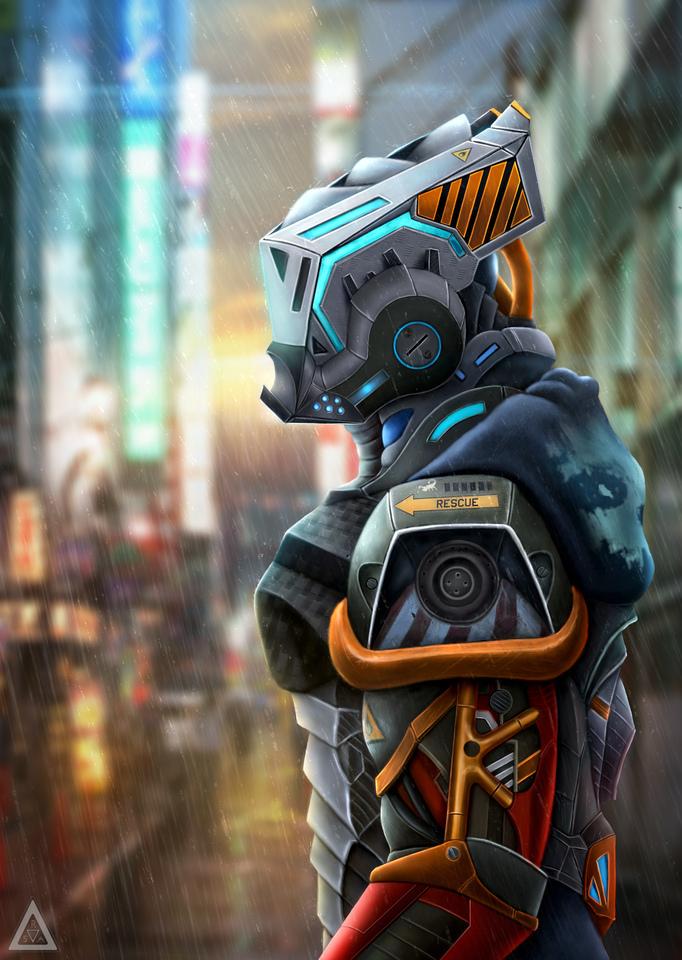 Underground Style Robot by Rodrigo Avila
