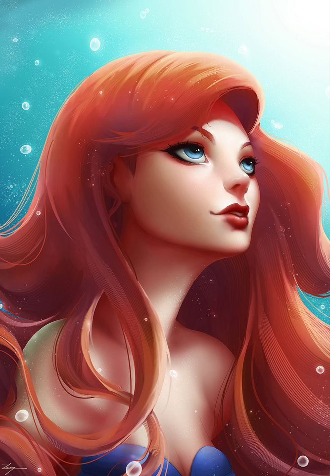The Little Mermaid by Casper Hansen