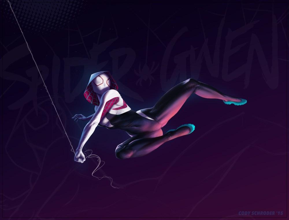 Spider Gwen by Cody Schroder