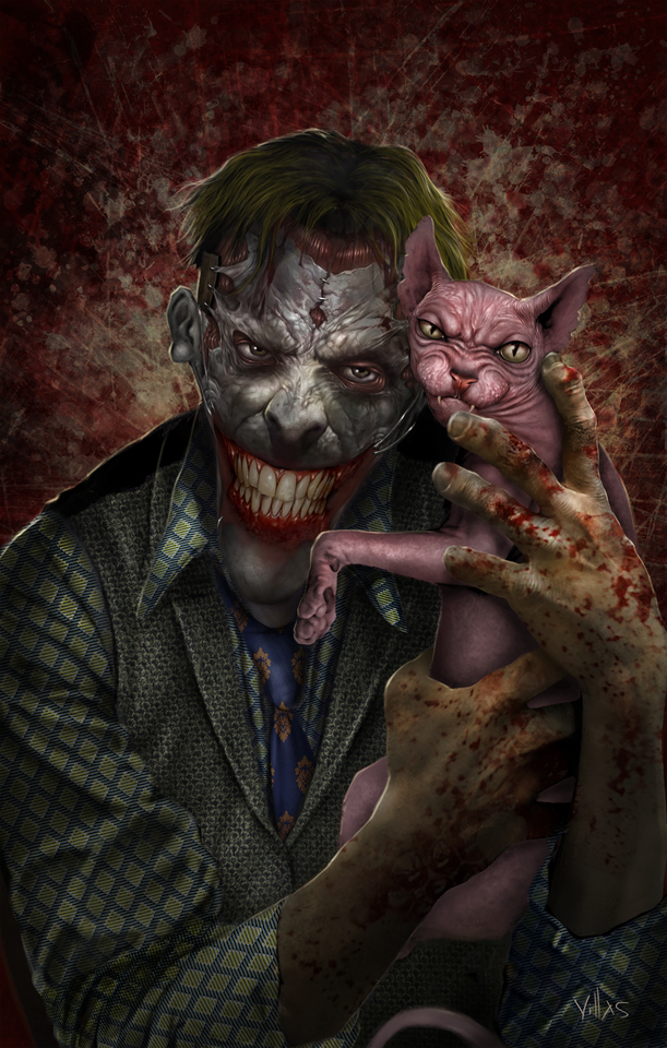 Joker by CARLOS VILLAS