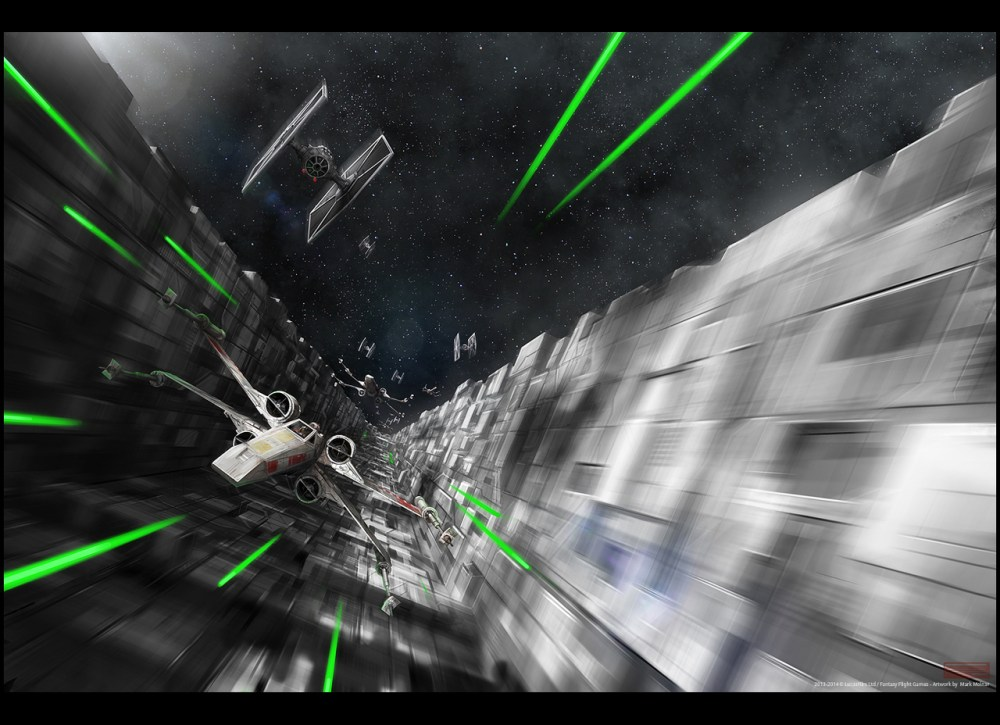 star wars trench run by mark_molnar