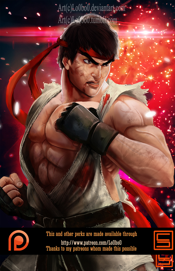 November Reward Ryu Promotional by Sergio Palomino