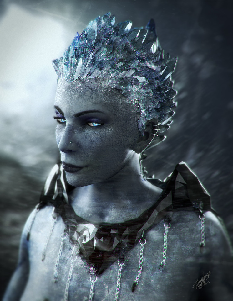 Ice Queen by Santiago Betancur