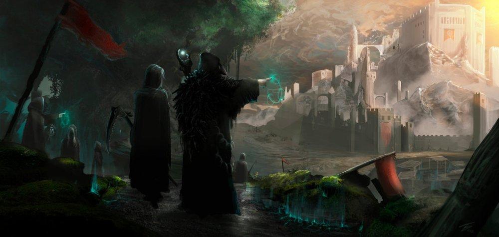 The Dark Druids by Tiago Silvério