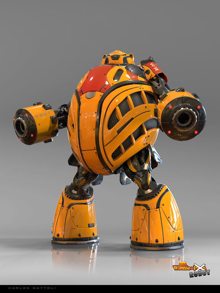 Winnie The Robot by Carlos Dattoli