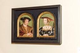 Král Ferdinannd l. a královna Anna Jagellonská, po 1531