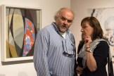 Jiří Fajt, ředitel NG a Milena Kalinovska, ředitelka sbírky moderního a současného umění NG, foto©PetrSalek.com