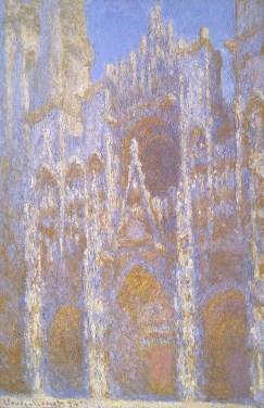 Claude Monet Die Kathedrale von Rouen im Sonnenlicht, 1894 Öl auf Leinwand Museum of Fine Arts, Boston, Sammlung Juliana Cheney Edwards © Museum of Fine Arts, Boston