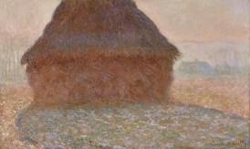 Claude Monet Getreideschober in der Sonne, 1891 Öl auf Leinwand Kunsthaus Zürich, erworben aus dem Legat Otto Meister mit einem Beitrag der Schweizerischen Kreditanstalt © Kunsthaus Zürich