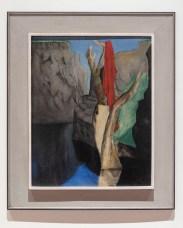 Josef Šíma: Starý strom ve skalách, 1935