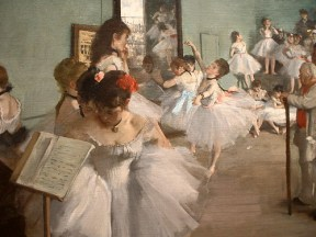 L'audition de danse