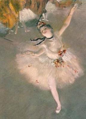 Ballet - L'étoile (vers 1878), pastel sur papier, 58 × 42 cm, Paris, musée d'Orsay.