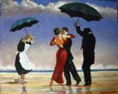 """The singing butler"" 1992 - Jack Vettriano"