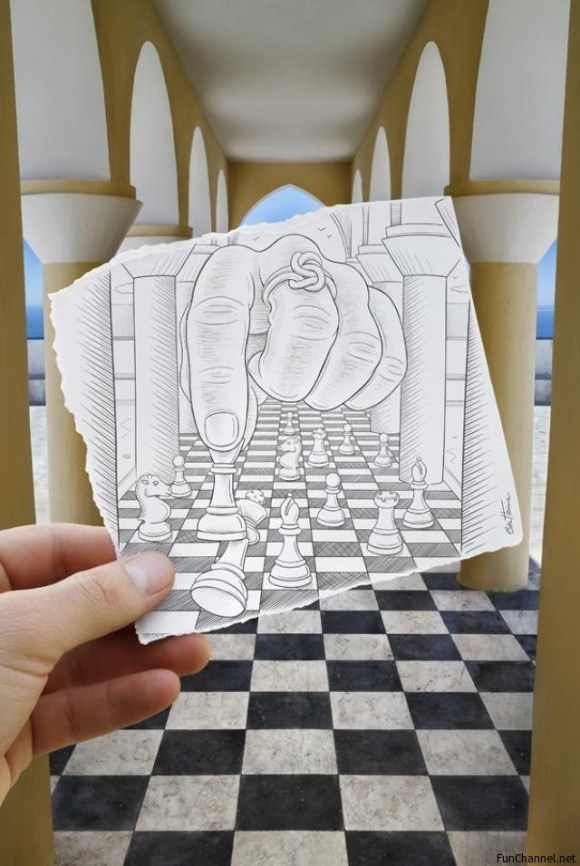 ben-heine-pencil-vs-camera-Chess