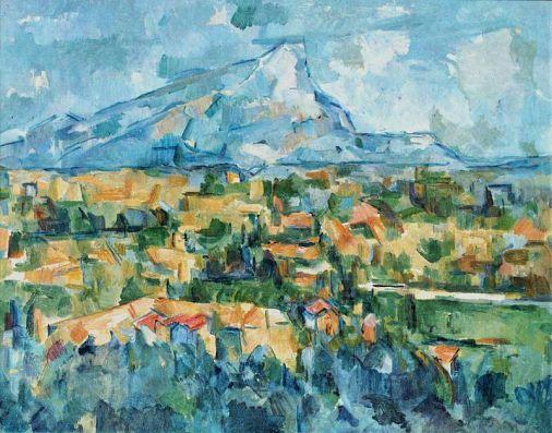 Paul Cézanne: Mont Saint Victoire, 1904-1906