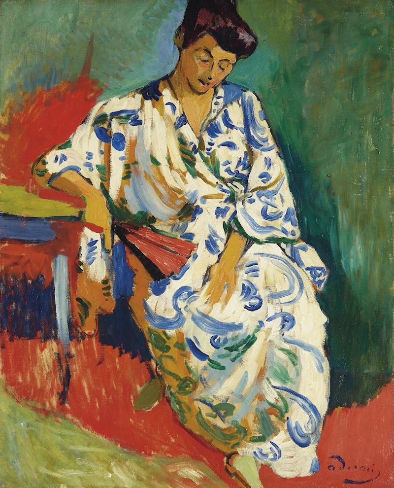 Derain_Madame Matisse au kimono