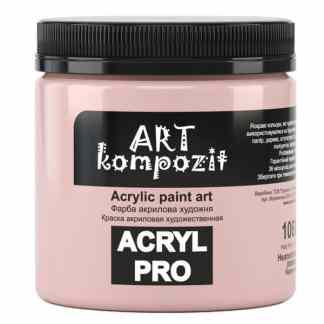 Акриловая краска 106 Неаполитанский розовый 430 мл Kompozit