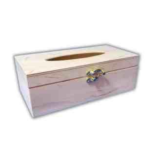 Заготовка деревянная «Шкатулка для салфеток» 240х120х80 мм фанера 17.248 Украина