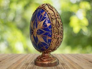 Мастер-класс по декорированию яйца «Фаберже» материалами Primo™ - 00