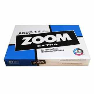 Бумага ксероксная А3 (29,7х42 см) 80 г/м.кв. 500 листов Zoom
